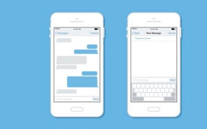 iOS messaging tips